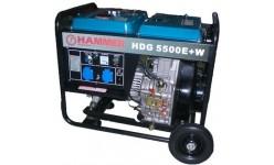 Дизельный генератор HDG5500E+W Hammer
