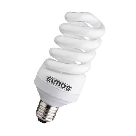 Bec econom SPIR 15W E27 6500K MW ELMOS Elmos