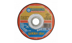 Диск по нерж. металлу 125 mm Goldenstar 125*1.0*22.23