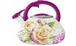 Эмалированный чайник со свистком 3.5л H8141 Bohman