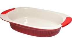 "Caserola de ceramica ovala 004-17"" 3,3L KONIG"