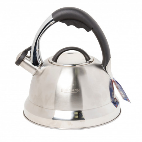 Ceainic din inox cu fluer BH9978BK
