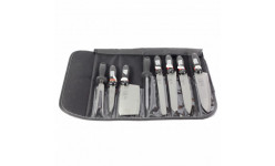 Set de cutite in husa neagra Konig MS9BB