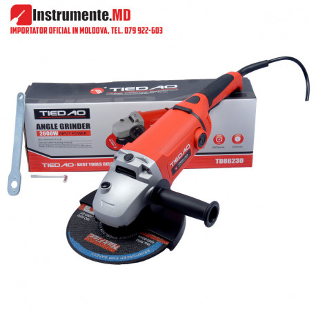 TD86230 Șlefuitor unghiular (Angle Grinder) 230mm 2600W TIEDAO