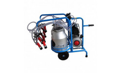 Доильный аппарат 2 поста вакуум резервуар 18Л, бидон 2/30 Литров MS