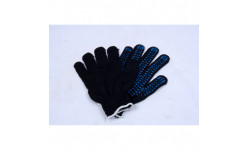Перчатки M07 с 5 пальцами 6 нитки ПВХ (CG) 715