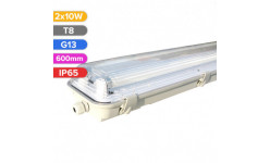 CORP DE ILUMINAT PT TUB LED, 2X10W 600MM IP65 FH4033 FUCIDA