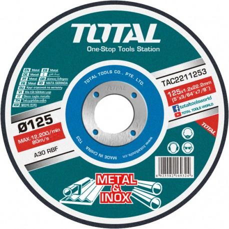 Disc pe metal 125mm TAC2211253 TOTAL
