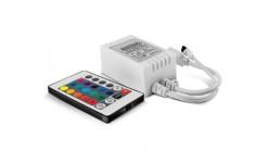 CONTROLER BANDA LED IR24-RGB 72W BY30-01130 BRAYTRON