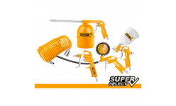 Set pneumatic compresor INGCO Air Tools 5Pcs Set AKT0053