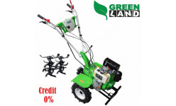 Motocultor pe Motorina GreenLand 6HP GL6D + Freze