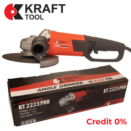 Болгарка УШМ KraftTool KT2223 PRO